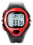Sportovní digitální hodinky, červená