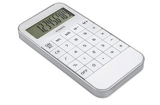 ZACK Digitální kalkulačka desetimístná, bílá