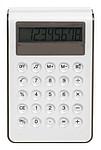 BONSAL Velká stolní plastová kalkulačka, bílá, černá