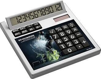 12-místná kalkulačka pro celoplošný tisk