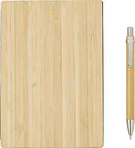 Linkovaný zápisník s deskami z bambusu