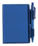 Poznámkový blok A7 s perem, modrá