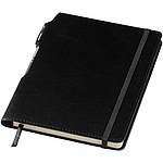 Linkovaný zápisník A5 v měkkých deskách, černá