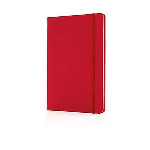 Poznámkový blok A5, červená