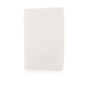 Standardní poznámkový blok s měkkou vazbou, bílá