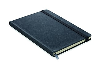 Zápisník A5, 80 linkovaných stránek, černý