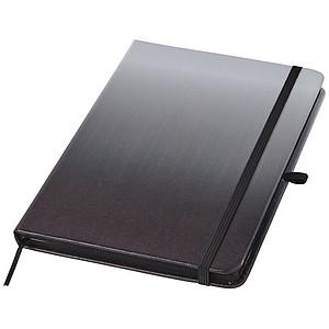 Zápisník Gradient, černá