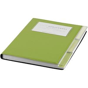 Zápisník A5 Tasker, jasně zelená