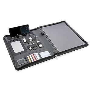 Air technické portfolio A4 s bezdrátovou nabíječkou, černá