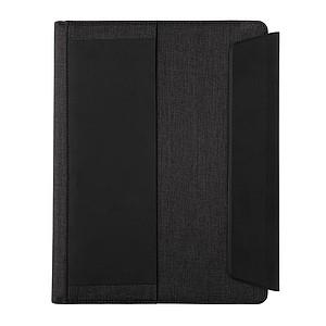 Portfolio A4 s bezdrátovým nabíjením a powerbankou Fiko, černá