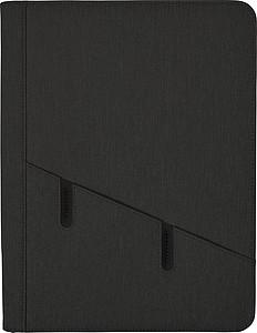 Polyesterová sloha na dokumenty, černá