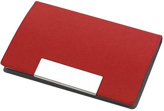 FERENK Vizitkář s magnetickým zavíráním, červený
