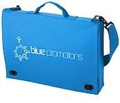 Jednoduchá taška na dokumenty, světle modrá