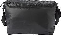 Černá prošívaná taška na rameno