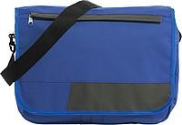 LOPERO Taška na rameno s popruhem a černým zipem, modrá