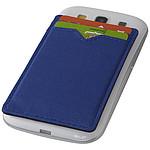 Dvoupřihrádková peněženka RFID, královská modrá