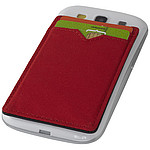 Dvoupřihrádková peněženka RFID, červená