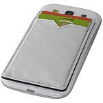 Dvoupřihrádková peněženka RFID, stříbrná