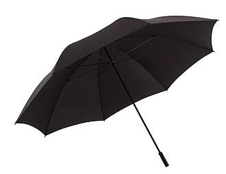 GIGANT Velký golfový deštník, pr. 180cm, černý