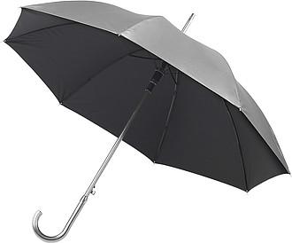 CARAVAGGIO Automatický deštník, stříbrné barvy