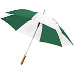 """Plně automatický deštník Alex 21.5"""", stříbrná/vínová"""