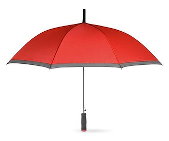 Automatický deštník v obalu, červená