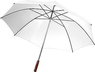 PICASSO Velký golfový deštník, bílý, rozměry 130 x 105 cm