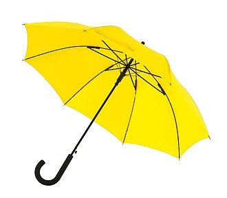 Automatický větru odolný deštník, žlutý, pr. 103 cm - reklamní deštníky