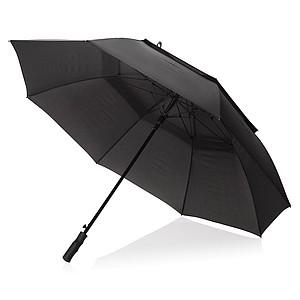 """30"""" odolný deštník Tornado, černá"""