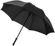Holový deštník s LED světlem v rukojeti, černá
