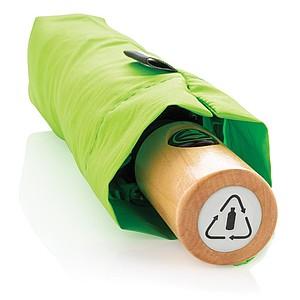 GETAFO Automatický deštník z recyklovaného PET materiálu, průměr 96 cm, světle zelená