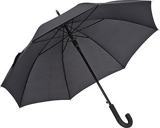 Automatický deštník 105x86,5cm, černý