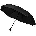 Pánský automatický deštník, černá