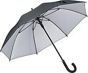 Automatický deštník Ferraghini, černostříbrný