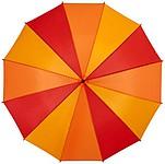Holový deštník s 12 panely, průměr 105 cm, červená