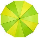 Holový deštník s 12 panely, průměr 105 cm, světle zelená