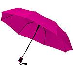 Čtvercový deštník z polyesteru, bílá