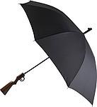 Automatický deštník s rukojetí ve tvaru pažby pušky