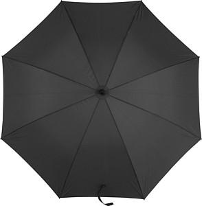 Automatický holový deštník, průměr 121 cm, černý - reklamní deštníky