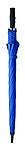 Manuální holový deštník, větru odolný, barva královská modrá