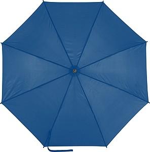 EDUARDO Holový automatický deštník, pr. 103,5 cm, modrý - reklamní deštníky