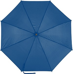 EDUARDO Holový automatický deštník, pr. 103,5 cm, modrý - pláštěnky