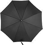 MARSYAS Automatický deštník s laminátovou konstrukcí, rozměry 105 x 84 cm, černý - reklamní deštníky