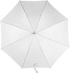 MARSYAS Automatický deštník s laminátovou konstrukcí, bílý - reklamní deštníky
