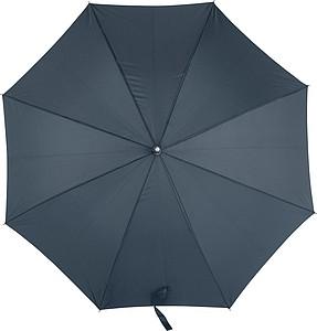 MARSYAS Automatický deštník s laminátovou konstrukcí, rozměry 105 x 84 cm, modrý - reklamní deštníky