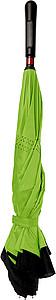 ALMARET Dvouvrstvý deštník, rozměry 105 x 85 cm, černo zelená