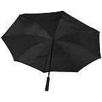 """Automatický deštník Lucy 23"""" černý s barevnou výsečí, červená"""