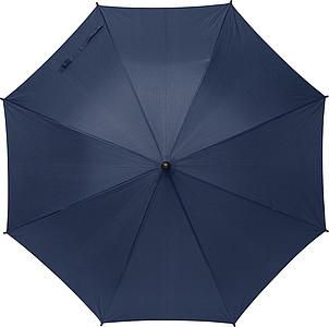 TERUEL Klasický automatický deštník, pr. 89cm, materiál RPET, námořní modrá - reklamní deštníky