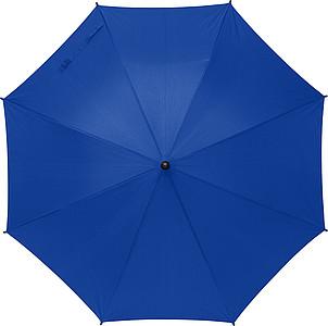 TERUEL Klasický automatický deštník, pr. 89cm, materiál RPET, královská modrá - pláštěnky