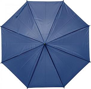 PEBAN Klasický automatický deštník, pr. 100cm, modrý - pláštěnky